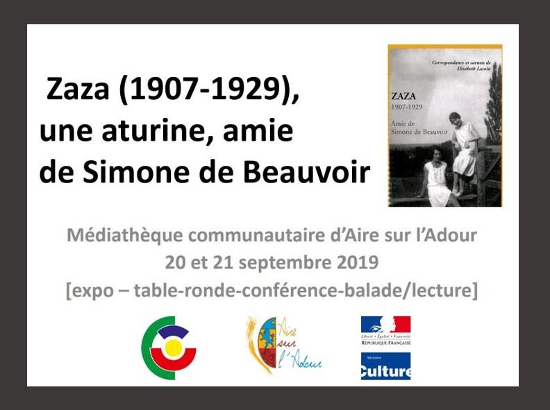 Zaza une aturine amie de Simone de Beauvoir